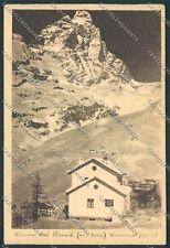Aosta Valtournanche cartolina C2451 SZD