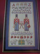 Christmas Sampler Magazine Cross Stitch Pattern