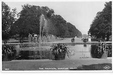 BR77331 the fountain hampton court real photo  uk
