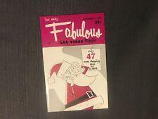 Fabulous Las Vegas Magazine Dennis Day Tempest Storm The Novelties 11/7/1959