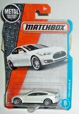 Matchbox Tesla Model S #026 MBX '16 Collection White VHTF!!!