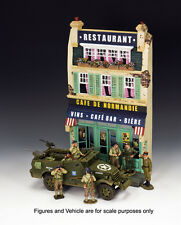 King & Country - Cafe de Normandie SP054 Scenery WWII French