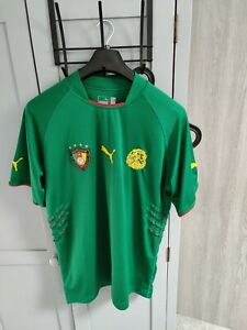 Cameroon 2004 Football Shirt Size XL