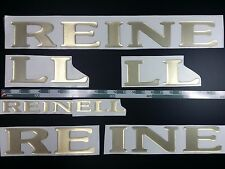 """REINELL Boats Emblem 30"""" gold + FREE FAST delivery DHL express"""