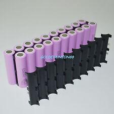 20 joint plastic inside bracket fixed combined holder for Li-ion 18650 battery