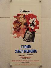 L'UOMO SENZA MEMORIA giallo regia Duccio Tessari locandina orig. 1974