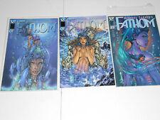 Michael Turner's Fathom #1 (2x), #2 > 1998 Image (3 BOOK LOT) VF