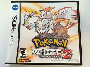Pokemon White Version 2 - Nintendo DS - Replacement Case - No Game