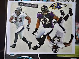 NFL Baltimore Ravens Ray Lewis Fathead Tradeables 5 Wall Decal Set