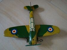 Blechspielzeug Flugzeug Wells England Tinplate Tintoy Tole Jouet Brimtoy Mettoy