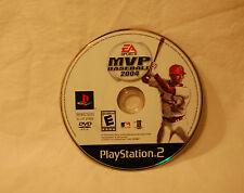MVP Baseball 2004  (Sony PlayStation 2, 2004) Electronic Arts EA PS2 Game Disc