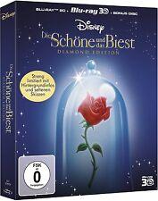 DIE SCHÖNE UND DAS BIEST (Walt Disney) Blu-ray 3D + Blu-ray Disc, Digibook NEU