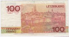 More details for 1986 luxembourg 100 francs bank note | pennies2pounds