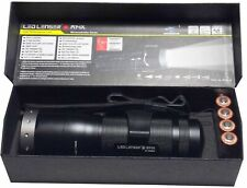 LED LENSER M14X Flashlight Torch 650 Lumen USB Rechargeable Focus Power