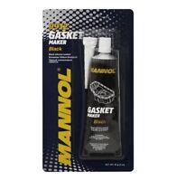 Black Gasket Maker Silicone High Temp Sealer Sealant Water Oil Resist Mannol 85g