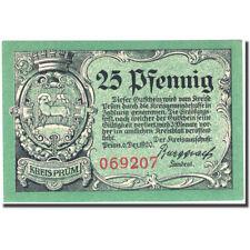 [#274016] Biljet, Duitsland, Kreis Prüm, 25 Pfennig, ruine, 1920 SPL Mehl