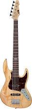 LTD J-205 Ash - 5-Saiter E-Bass in Natur