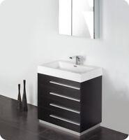 "FVN8030 Fresca Senza Livello 30"" Modern Bathroom Vanity"