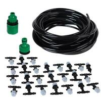 Water Misting Cooling System Sprinkler Nozzle Garden Patio Micro Irrigation