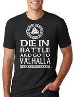 Valhalla Vikings T-shirt Viking T-shirt Battle Valhalla Vikings Tee shirt