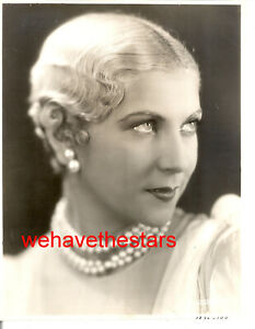 Vintage Lilyan Tashman GORGEOUS BLONDE TRAGIC STAR '29 LB Publicity Portrait