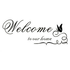 Wall stickers  seal Wall seal Welcome to Our Home BT