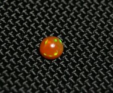 0.36ct Rare Mexican Fire Opal Cabochon - Rainbow Flash - AAA Quality Fire Opal