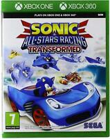 Sonic All Star Racing Transformed Xbox One 360