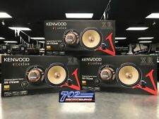 "KENWOOD EXCELON XR-1703HR COMPONENT SPEAKER SYSTEM 6-3/4"" 1"" SOFT DOME TWEETER"