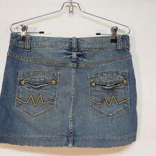 Rock & Roll Cowgirl Denim Mini Skirt Size M