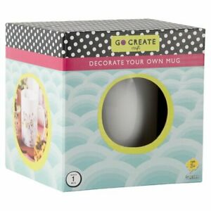 Go Create - Decorate Your Own Mug - Arts and Crafts - Brand New in Box