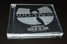 Wu-Tang Clan Featuring Ron Isley Back in the Game Promo CD