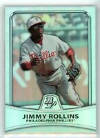 2010 Bowman Platinum REFRACTOR #70 JIMMY ROLLINS (Phillies) *607/999 NM