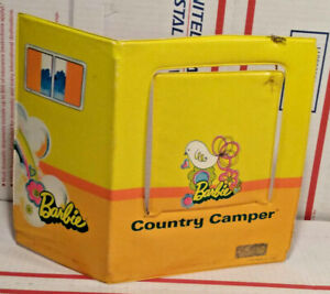 1970 Barbie Country Camper Replacement Back - Side Panel Fold Out