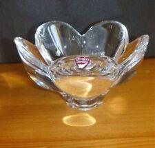 Vase Mid-Century Modern Crystal Glass