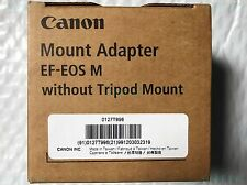 Genuine Canon EF-EOS M Mount Adapter Fit EF EF-S Lens for EOS M2 M3 M5 M6 Camera