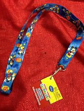 Disney Mickey Mouse Lanyard KeyChain ID Strap Brand New 18.5 Inch