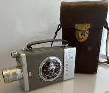 Stunning Vintage Bell & Howell Auto Load 16mm Clockwork Cine Film Camera & Case