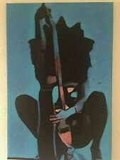 LADY WITH THE GUITAR  CANVAS  PRINT  SIZE 70X50 CM UV PROTECTED