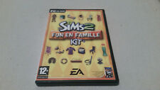 The sims 2 fun en famille pc FRENCH VERSION