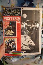 STAR WARS Craft Master 1977 Poster Art NEW Still Sealed SET of 2 UNUSED Vintage