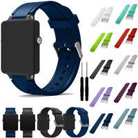Replacement Strap For Garmin Vivoactive Acetate Watch Sports Soft Wrist Strap
