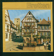 ältere Broschüre Stadt Bretten 1980er Fotos Informationen