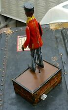 MARX TIN WIND UP NEW YORK 1910 EARLIEST PORTER DAPPER DAN BLACK AMERICANA
