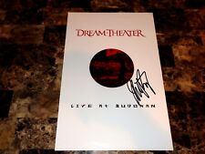 Dream Theater Rare Mike Portnoy Signed Promo Poster Live Budokan Winery Dogs COA