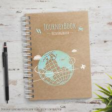 JourneyBook Reisetagebuch - zum selberschreiben oder als Abschiedsgeschenk