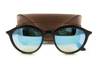 Ray-Ban Sunglasses RB4257 Gatsby II Black Blue Flash 6252/B7 Authentic New