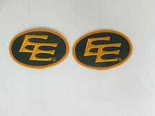 2 EDMONTON ESKIMOS  Canadian Football League patch PATCHES