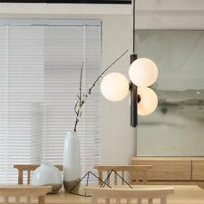 Glass Pendant Light Kitchen Lamp Office Ceiling Lights Black Chandelier Lighting