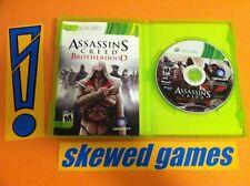 Assassins Creed Brotherhood - XBox 360 Microsoft COMPLETE